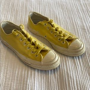 Men's Yellow Converse All Star Chuck Taylor Shoes